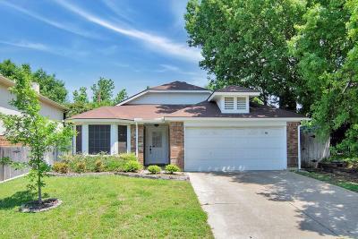 Grapevine Single Family Home For Sale: 1416 Mockingbird Dr