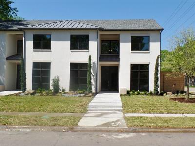 Dallas  Residential Lease For Lease: 6541 Del Norte Lane