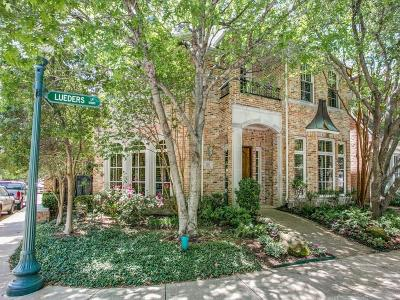 Dallas Single Family Home For Sale: 12103 Lueders Lane