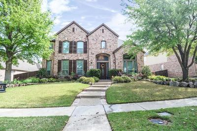Frisco Single Family Home Active Option Contract: 4470 Voyager Drive
