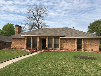 Rockwall Single Family Home Active Option Contract: 804 Village Green Drive