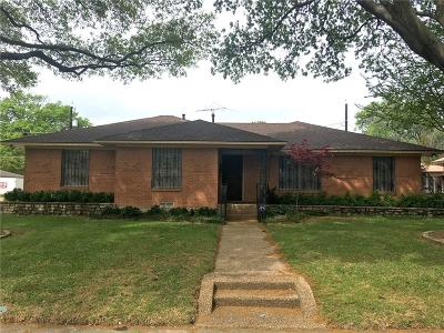 Garland Single Family Home Active Option Contract: 1229 Swallow Lane
