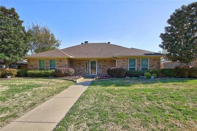 Plano Single Family Home Active Option Contract: 2808 Cross Bend Road