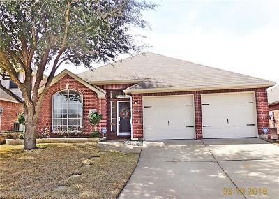 Sachse Single Family Home Active Option Contract: 6909 Highland Crest Lane