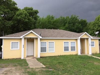 Little Elm Multi Family Home Active Option Contract: 5959-5 Robinwood Street