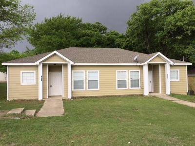 Little Elm Multi Family Home Active Option Contract: 5931-5 Robinwood Street
