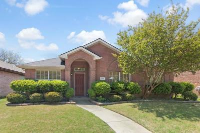 Rowlett Single Family Home Active Option Contract: 7706 Harbor Drive