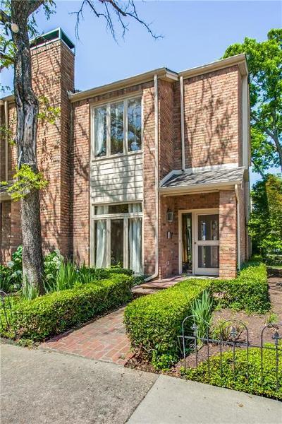 Highland Park, University Park Condo For Sale: 3439 Rankin Street #3439