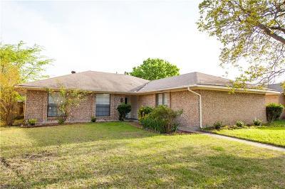 Richardson Single Family Home Active Option Contract: 1118 Princeton Drive