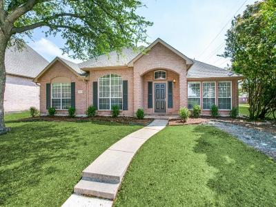 Plano Single Family Home Active Option Contract: 4132 Burnhill Drive