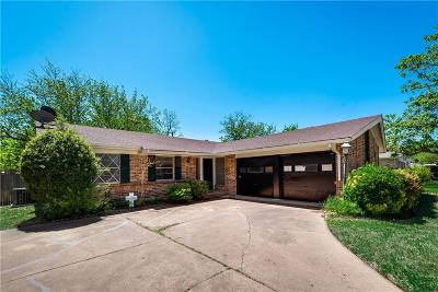 Garland Single Family Home Active Option Contract: 1614 McDonald Drive