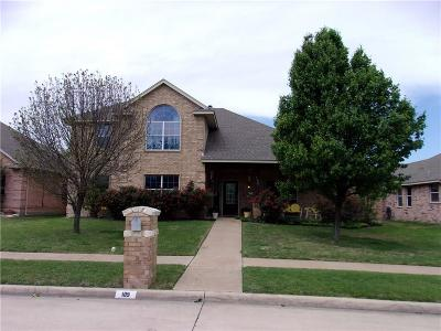 Red Oak Single Family Home For Sale: 109 Winters Edge Drive