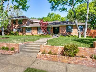 Dallas Single Family Home For Sale: 7241 Brookcove Lane