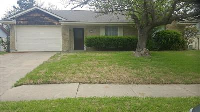 Garland Single Family Home Active Option Contract: 4821 Cloverdale Lane