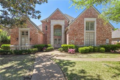 Plano Single Family Home Active Option Contract: 5520 Weatherby Lane
