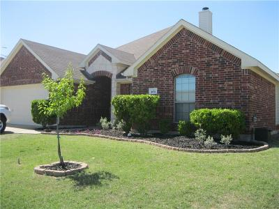 Crandall, Combine Single Family Home For Sale: 104 Haymeadow Drive