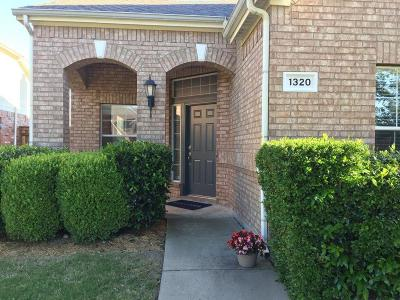 Prosper  Residential Lease For Lease: 1320 Amistad Drive