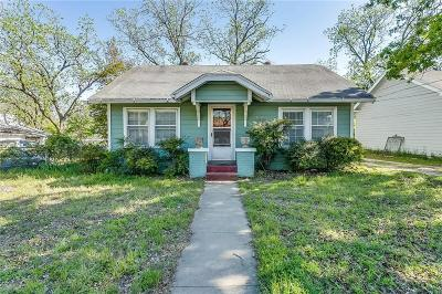 Weatherford Single Family Home Active Option Contract: 425 W Ball Street