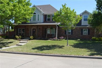 Hurst Single Family Home Active Option Contract: 709 Bent Tree Court