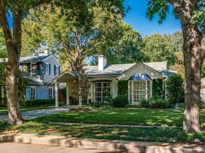 Highland Park Single Family Home For Sale: 4616 Southern Avenue
