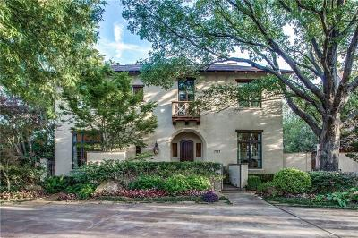 Allen, Dallas, Frisco, Plano, Prosper, Addison, Coppell, Highland Park, University Park, Southlake, Colleyville, Grapevine Single Family Home For Sale: 7914 Bryn Mawr Drive