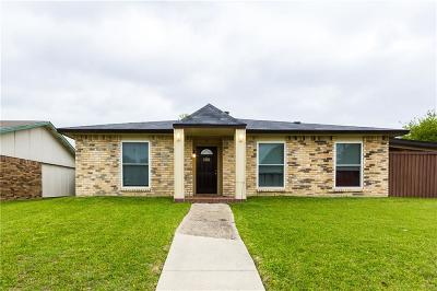 Rowlett Single Family Home Active Option Contract: 3117 Kenwood Drive