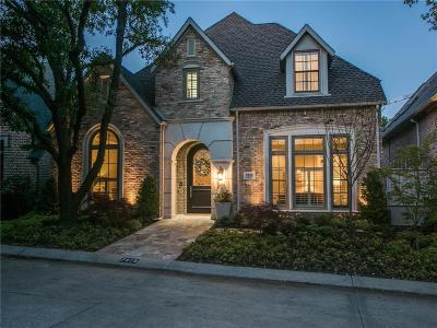Dallas Single Family Home For Sale: 7819 Marquette Street