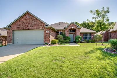 Dallas Single Family Home Active Option Contract: 5846 Foxglove Lane