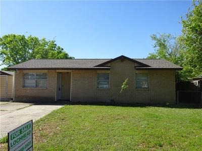 Mesquite Single Family Home For Sale: 1327 Briarwood Drive