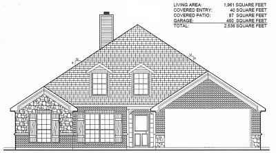 Springtown Single Family Home For Sale: Lot 1 Aubrey Trail