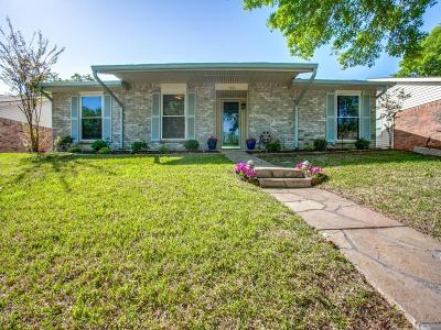 Garland Single Family Home Active Option Contract: 5506 Castleview Lane