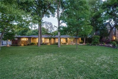 Dallas Single Family Home For Sale: 8214 Santa Clara Drive