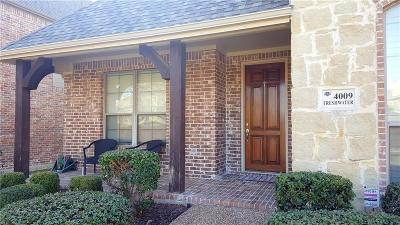 Carrollton  Residential Lease For Lease: 4009 Freshwater Drive