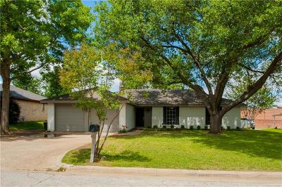North Richland Hills Single Family Home Active Option Contract: 8313 Oak Court