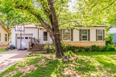 Hurst Single Family Home Active Option Contract: 408 Norwood Drive