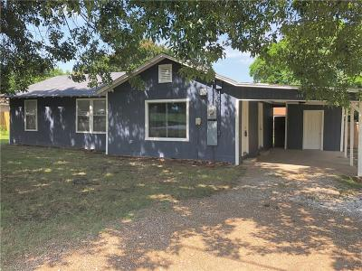 Seagoville Single Family Home Active Option Contract: 404 Combine Road