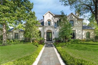 Preston Hollow, Preston Hollow Rev Single Family Home For Sale: 11340 Strait Lane
