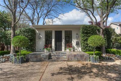 Fort Worth Single Family Home Active Option Contract: 4920 Dexter Avenue
