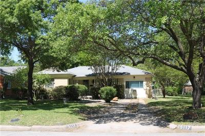 Dallas Single Family Home For Sale: 9117 Forest Hills Boulevard