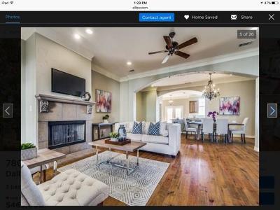 Dallas Single Family Home For Sale: 7803 Linwood Avenue
