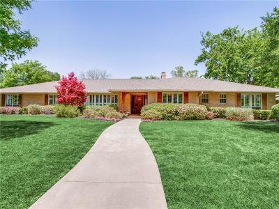 Dallas Single Family Home For Sale: 7015 Midbury Drive