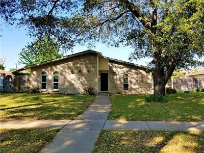 Garland Single Family Home For Sale: 4018 Random Circle