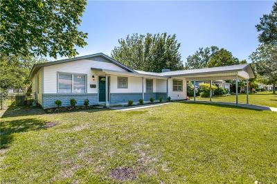 Haltom City Single Family Home Active Option Contract: 5236 Madella Street