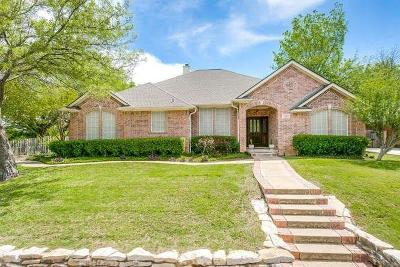 Arlington Single Family Home Active Option Contract: 3607 Woodside Drive