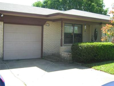 Denton Single Family Home For Sale: 1900 Spring Valley Drive