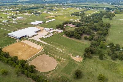 Aubrey Farm & Ranch For Sale: 3555 Sauls Road