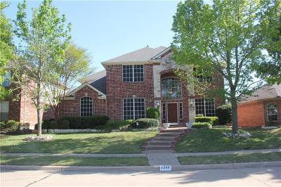 Allen Single Family Home For Sale: 1518 Warm Springs Drive