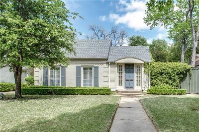 Highland Park Single Family Home For Sale: 4616 Livingston Avenue