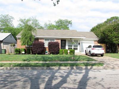 Arlington TX Single Family Home For Sale: $145,000