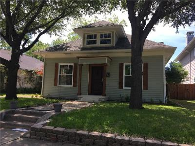 Dallas Single Family Home For Sale: 5440 Willis Avenue